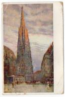 Autriche--VIENNE-1913--illustrateur  Ludwig HANS FISHER---I  Stephansdom   N° 22-207  éd Pantaphot - Églises