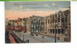 CPA-1920-BELGIQUE-LIEGE-LE PALAIS PROVINCIAL-ANIMEE-PERSONNAGES-ATTELAGES- - Liege