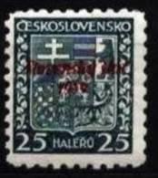 Slovakia 1939 Mi 05 ** - Slowakische Republik