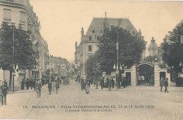 25 // BESANCON   Fêtes Présidentielles, Aout 1910 / L'avenue Carnot, Et Le Casino - Besancon
