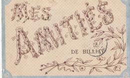 01 // Mes Amitiés De BILLIAT   Boutons Brillants  ** - France
