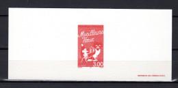 """FRANCE 1997 : Gravure Officielle Du N° YT 3123 """"  MEILLEURS VOEUX / CHAT / SOURIS """""""