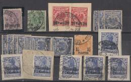 Dt. Post In Türkei Und Marokko Lot Marken Und Briefstücke Ansehen !!!!!!!!!! - Lots & Kiloware (max. 999 Stück)