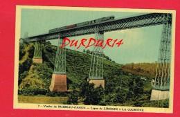 Creuse ... BUSSEAU D'AHUN ... Le Viaduc ... ( Chemin De Fer ... Ligne De LIMOGES à LA COURTINE ...) - Autres Communes