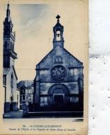 CP DEPT29 ST PIERRE QUILBIGNON EGLISE ET CHAPELLE NOTRE DAME DE LOURDES - Other Municipalities