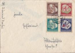DDR Brief Mif Minr.289-292 - DDR