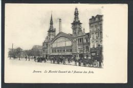 CPA - ANVERS - ANTWERPEN - Le Marché Couvert De L'Avenue Des Arts    // - Antwerpen
