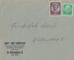 DR Brief Mif Minr.515,540 Lpst. Wakendorf - Deutschland