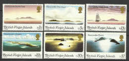 BRITISH VIRGIN ISLANDS  1980 ISLAND PROFILES SET MNH - Britse Maagdeneilanden