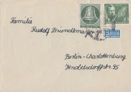 Berlin Brief Mif Minr.102, 117 Gel. Nach Berlin - Ohne Zuordnung