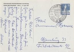 Berlin Privat-GS Minr.PP19 SST Köln 8.6.57 - Berlin (West)