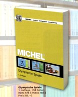 Olympische Spiele MICHEL 1.Auflage 2016 ** 68€ Olympia Sets Topic Catalogue Of Olympic Stamp/bloc ISBN 978-3-95402-148-2 - Zubehör