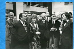MARSEILLE-Photo Des Années 60-une Inauguration-G DEFERRE*-TINO ROSSI-A ROUSSIN  .. - Personnes Identifiées