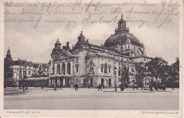 AK Frankfurt A.M. - Schauspielhaus - 1932 (24476) - Frankfurt A. Main