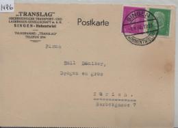 1932 Ebert Und Hindenburg 411, 435 - Stempel: Singen (Hohentwiel) Translag Transport Und Lagerhaus-Gesellschaft - Germania