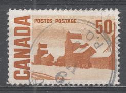 Canada 1967, Scott #465A Summer's Stores, By John Ensor (Grain Elevators) (U) - 1952-.... Règne D'Elizabeth II