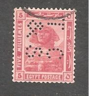 Perfin Perforé Firmenlochung Egypt YT 61 TC & S Thomas Cook And Son - Égypte