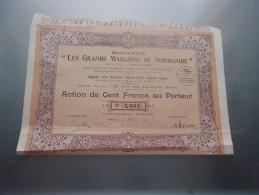 LES GRANDS MAGASINS DE NORMANDIE (1930) - Shareholdings