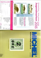 Briefmarken Rundschau MICHEL 8/2016 Neu 6€ New Stamps Of The World Catalogue/ Magacine Of Germany ISBN 978-3-95402-600-5 - Libros & Cds