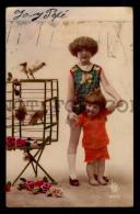 CHILDREN ART DECO Vintage Original Ca1900 POSTCARD CPA AK (W4_3168) - Bambini