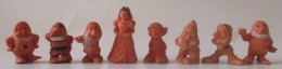Gommes ESSO 1970 Wal Disney Blanche Neige Et Les Sept Nains - Disney