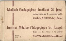 _6ik-967: Volledig Boekje: Reeks/Série B: Medisch-Paedagogisch Instituut St.Jozef........ ZWIJNAERDE-bij-GENT  Broeders - Belgique