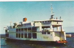 Canada - Ferry Ship Boat Between Cape Tormentine New Brunswick & Borden Prince Edward Island PEI - 2 Scans - Ferries