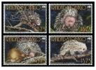 (WWF-428) W.W.F. Trinidad & Tobago Brazilian Porcupine MNH Stamps 2008 - W.W.F.