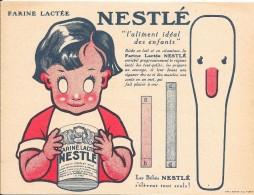 Découpi Publicitaire Nestlé . - Enfants
