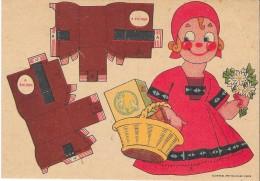 """Découpi Publicitaire  """"SAT"""" à La Saveur Du Beurre Margarine Végétale  . - Enfants"""