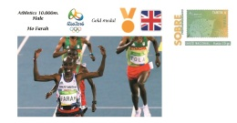 Spain 2016 - Olympic Games Rio 2016 - Gold Medal Athletics Male Great Britain Cover - Juegos Olímpicos