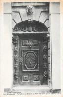 SAINT MALO - 35 -   Rue Broussais - Portail De La Maison Au Toit D'Argent - ENCH0616 - - Saint Malo