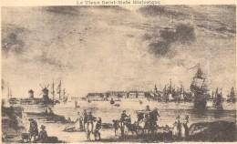 DEPT 35 - Le Vieux SAINT MALO - En 1776 Vu Devant Saint Servan En Face De L'Eperon  ENCH0616 - - Saint Malo