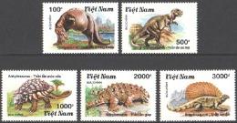VIETNAM 1990 PREHISTORIC ANIMALS** (MNH) - Briefmarken
