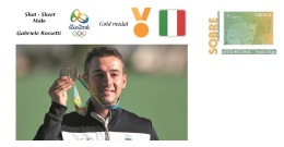 Spain 2016 - Olympic Games Rio 2016 - Gold Medal Shot Skeet Male Italy Cover - Juegos Olímpicos