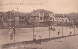 La Panne - Tennis - Avenue Des Barques (animation) - De Panne