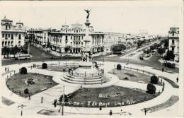 """INDIRIZZATA AL COMM.  """"GILBERTO  GOVI"""" -GENOVA    LIMA  MONUMENTO 2 DE MAYO      (VIAGGIATA) - Perù"""