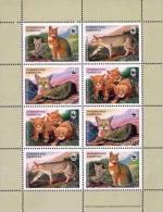 Tajikistan 2002 WWF Reed Cat Minisheet MNH - Tajikistan
