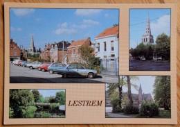 62 : Lestrem - Panorama De La Ville - Multivue / Multi Vues - (n°6519) - France