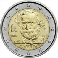 Giuseppe Verdi 2 Euro Commemorativo 2013 Italia - Italia