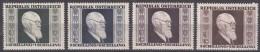 Austria 1946 Mi#772-775 Mint Hinged