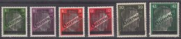 Austria 1945 Mi#668-673 Mint Hinged