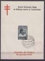 Belgium 1936/1937 Mi#441 Anti TBC Block