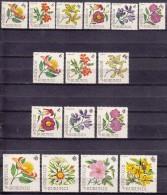 Burundi Flowers 1966 Mi#217-232 Mint Never Hinged