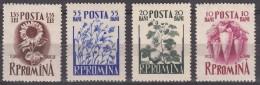 Romania Flowers 1955 Mi#1547-1550 Mint Never Hinged