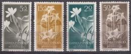 Spanish Guinea Flowers 1956 Mi#323-326 Mint Never Hinged - Guinea Espagnole