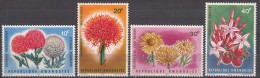 Rwanda Flowers 1966 Mint Never Hinged