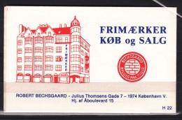 Danmark 1981 Carnet With 14 Stamps, Intact - Danimarca