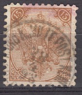 Austria Feldpost Occupation Of Bosnia 1879 Mi#6 II Used - 1850-1918 Imperio