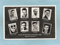 CYCLISME  TOUR DE FRANCE  1935  Equipe   ITALIE  CAMUSSO  BERTONI  MARTANO    An:  1935   Etat: TB - Radsport